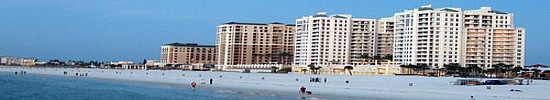 Clearwater Beach has been voted Best City Beach in Tampa Bay